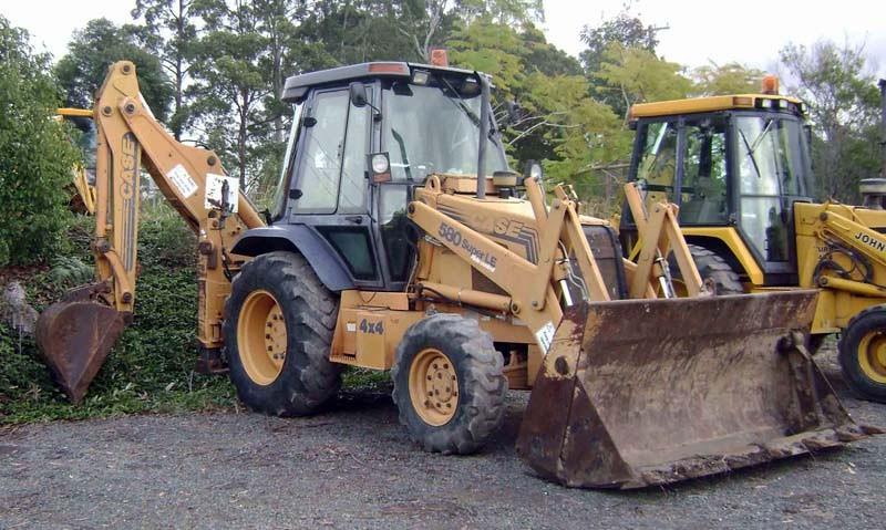 Case 580SLE - GT2244