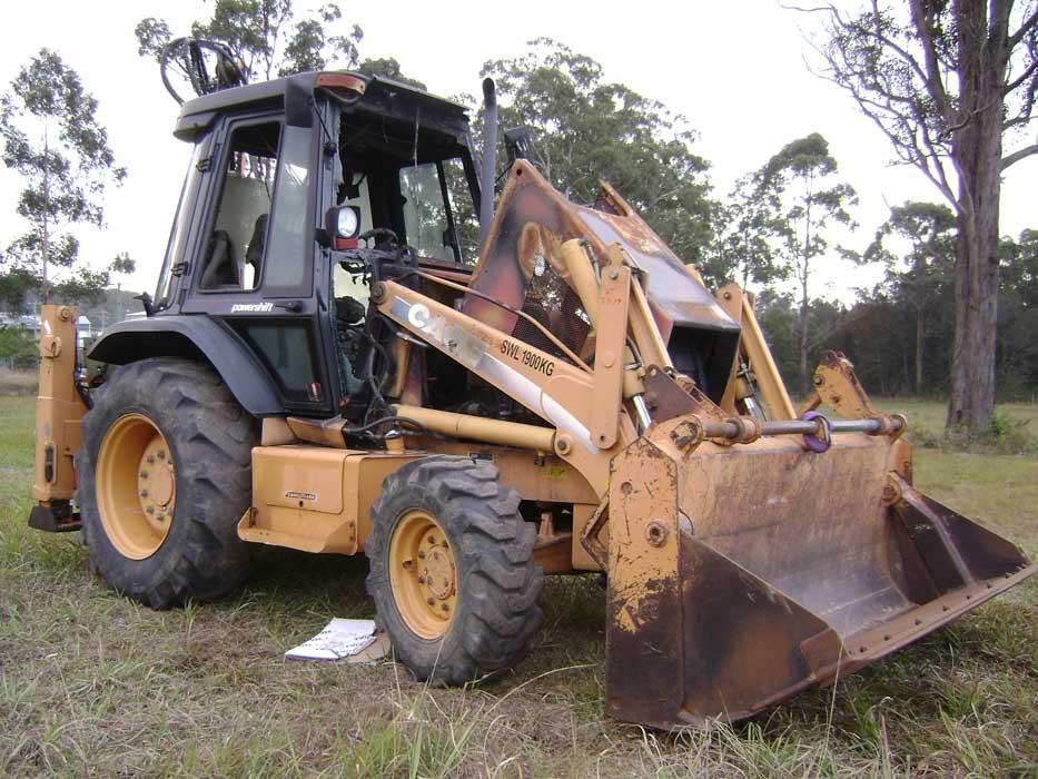 Case 590SM - GT2334