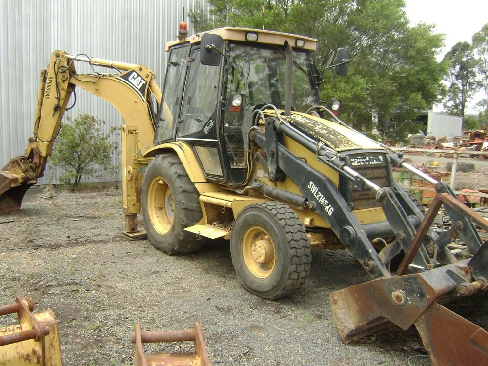 Caterpillar 428C Backhoe - GT2212